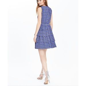 Banana Republic Blue Tiered Dress